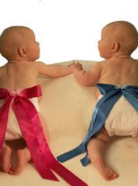 Фото двойняшек